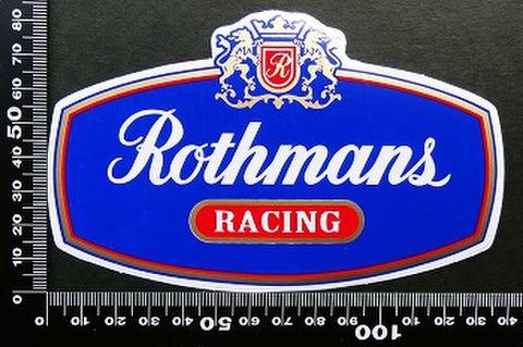 ロスマンズ Rothmans ステッカー 05598