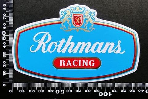 ロスマンズ Rothmans ステッカー 05599