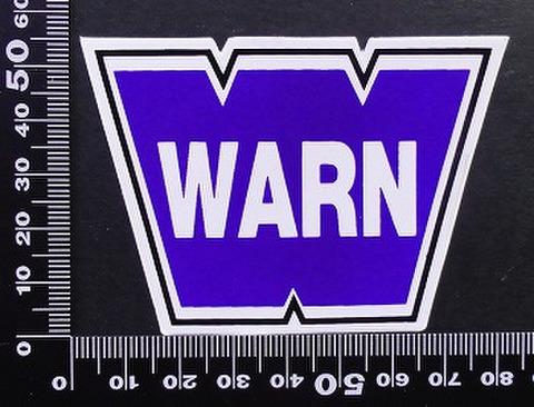 ウインチ WARN ステッカー 05685