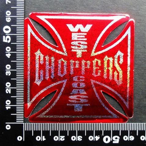 ウエストコーストチョッパーズ(WEST COAST CHOPPERS) ステッカー 00223