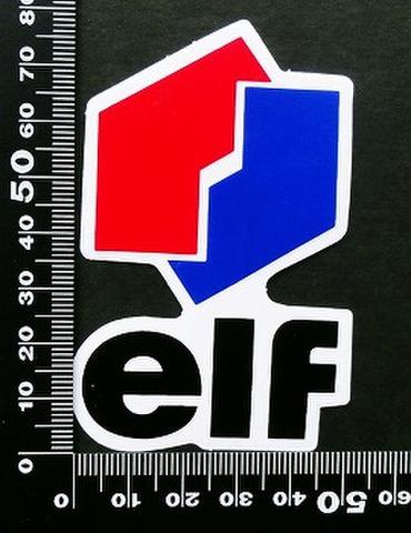 エルフ オイル ELF oil ステッカー 05383