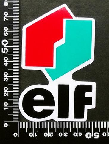 エルフ オイル ELF oil ステッカー 05384