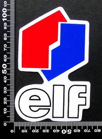 エルフ オイル ELF oil ステッカー 05385