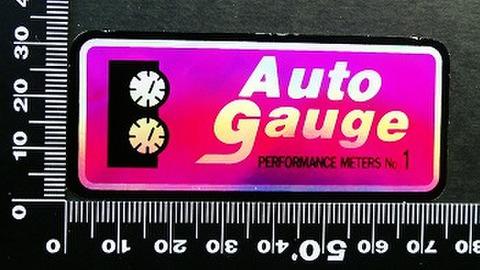 オートゲージ AUTOGAUGE ステッカー 00194