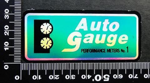 オートゲージ AUTOGAUGE ステッカー 00197