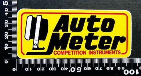 オートメーター AUTOMETER ステッカー 00193