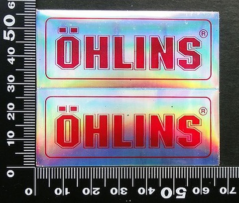 オーリンズ サスペンション  OHLINS ステッカー 05562