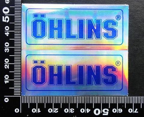 オーリンズ サスペンション  OHLINS ステッカー 05564