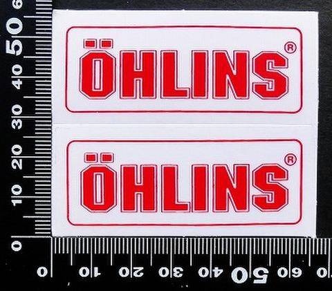 オーリンズ サスペンション  OHLINS ステッカー 05566