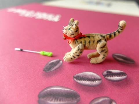 ミニチュアトラ猫