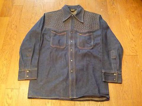Leeの70'S デニムシャツ