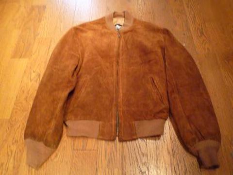 Schottのスウェードジャケット