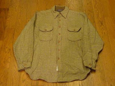 PENDLETONのウールシャツ