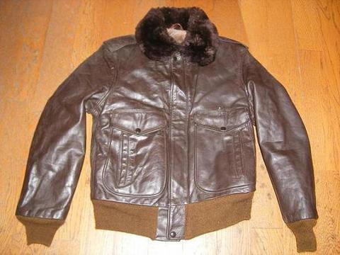 golden fleeceのフライトジャケット