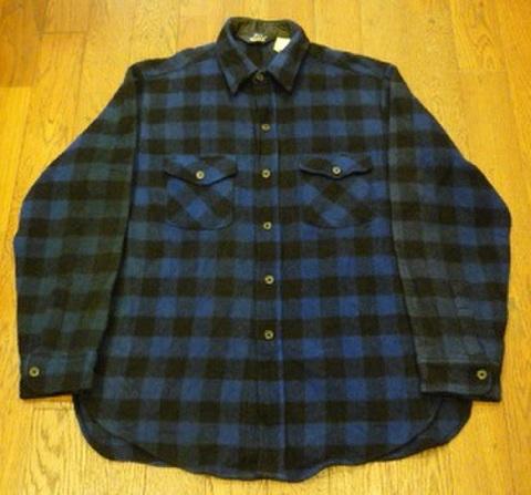 Woolrichのウールシャツ