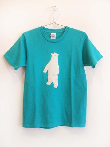 【事前問い合わせしてください】macokuma アップリケTシャツ