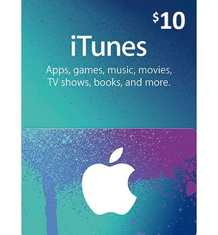 【北米版】ITUNES GIFT CARD $10
