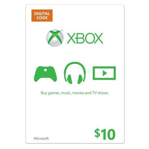 【北米版】XBOX ONE マイクロソフトポイント $10