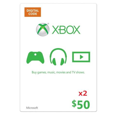【北米版】XBOX ONE マイクロソフトポイント $100