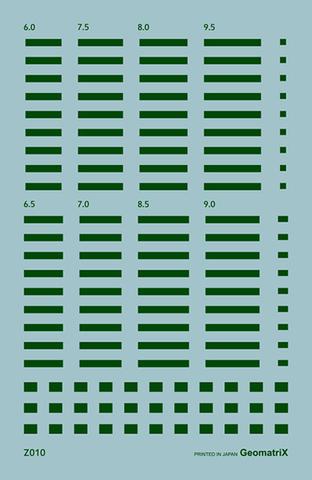 ●Z010 車番変更用マスク(緑2号)