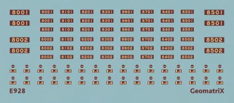 ●【通販限定】E928 北大阪急行電鉄(旧)8000形
