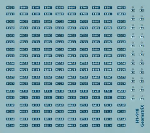 ●【通販限定】H1-918 大阪市交通局60系 8輌編成