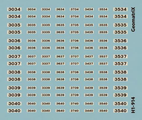 ●【通販限定】H1-914 大阪市交通局30系 34〜40編成