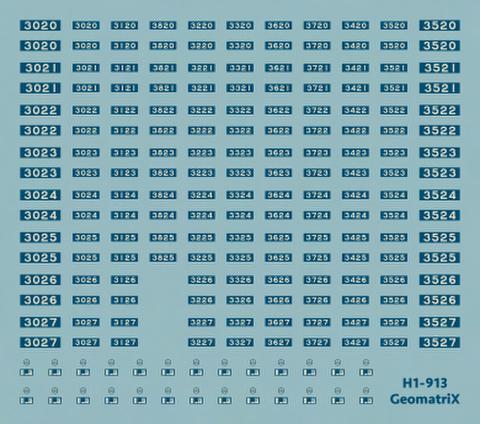 ●【通販限定】H1-913 大阪市交通局30系 20〜27編成