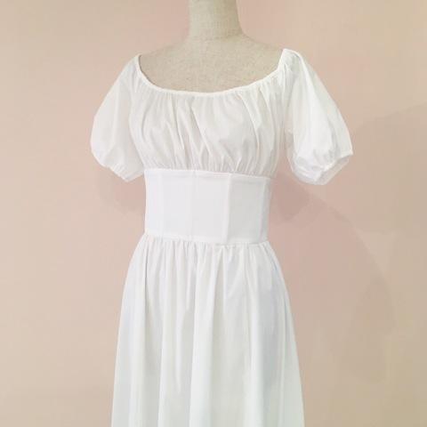 Little White Lies Dress-White