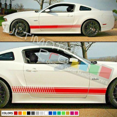 グラフィック デカール ステッカー 車体用 / フォード マスタング 2014 / ストライプステッカー