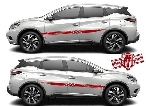 グラフィック デカール ステッカー 車体用 / 日産 ムラーノ / サイドドア グラフィックスペシャル・ステッカー