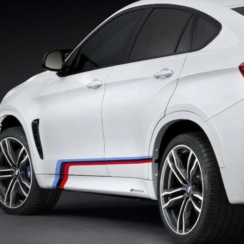 グラフィック デカール ステッカー 車体用 / BMW X6M F86 2014-2019 / M SPORT Mパフォーマンス Mテックデカール