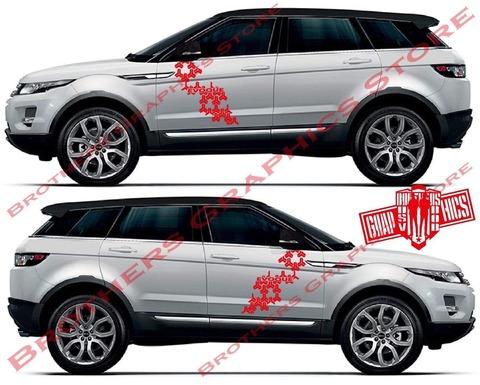 グラフィック デカール ステッカー 車体用 / レンジローバー イヴォーク / ストライプ グラフィックキット・ステッカー