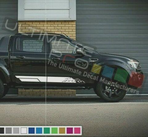 グラフィック デカール ステッカー 車体用 / フォード レンジャー 2013 2014 2015 2016 2020 / サイドドア ストライプグラフィック