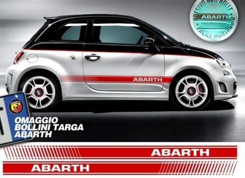 グラフィック デカール ステッカー 車体デカール フィアット FIAT 500 ABARTH サイド EFB Adesivi FIAT 500 ABARTH FASCE FIAT 500 ASSETTO CORSE + OMAGGIO