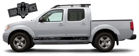 グラフィック デカール ステッカー 車体用 / 日産 フロンティア 2005-2020 / 2X カラーグラフィック・ステッカー