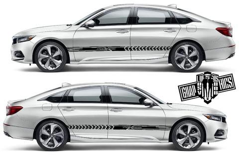 グラフィック デカール ステッカー 車体用 / ホンダ アコード / 2X ストライプ・ステッカー