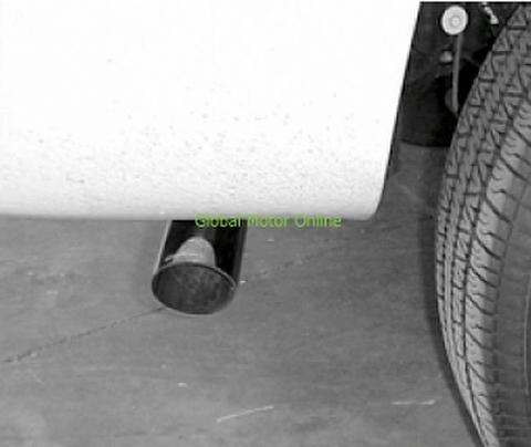 タホ ユーコン エスカレード 00-06 ギブソン スウィプト サイド スポーツ マフラー 315559