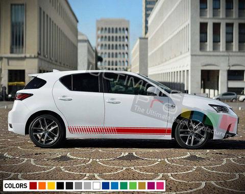 グラフィック デカール ステッカー 車体用 / レクサス CT 2016 2017 2018 / ストライプキット