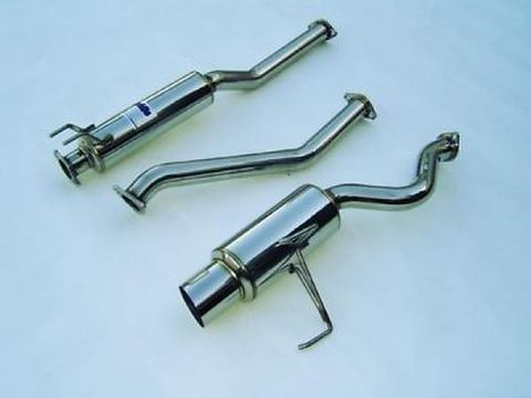 Honda Civic Si  2002-2005 Invidia  CAT-BACK EXHAUST N1 マフラー