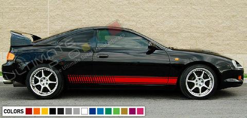 グラフィック デカール ステッカー 車体用 / トヨタ カローラ GT4 ST205 1994 1995 1998 1999 / ストライプキット