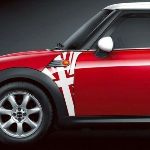 グラフィック デカール ステッカー 車体用 / ミニ クーパー R55 R56 R57 / BMW Aパネルユニオンジャックデカール 1