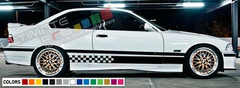 グラフィック デカール ステッカー 車体用 / BMW E36 M3 1995 1998 1999 / ストライプキット