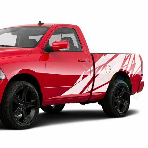 グラフィック デカール ステッカー 車体用 / ダッジ ラム レギュラーキャブ 3500 / テールゲート パターングラフィック