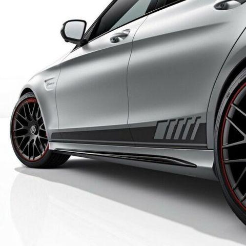 グラフィック デカール ステッカー 車体用 / メルセデス・ベンツ Cクラス AMG W205 / スポーツストライプデカールグラフィックス