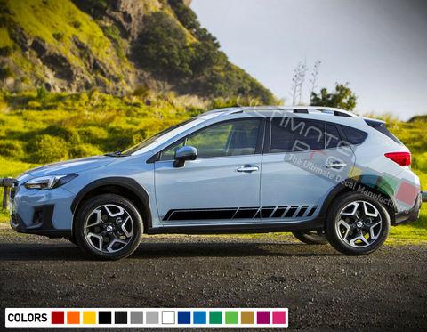 グラフィック デカール ステッカー 車体用 / スバル XV SUV 2015- / ストライプステッカーキット