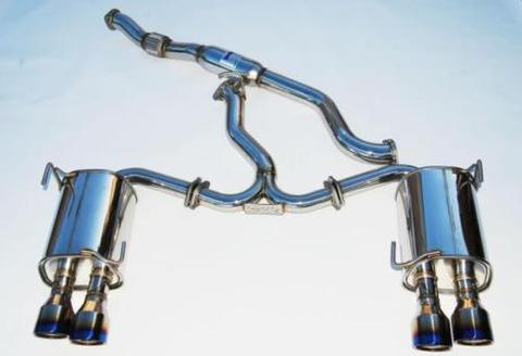 Subaru スバル WRX/STI 2015-UP Invidia Rolled Titanium Tip CAT-BACK EXHAUST Q300 チタンエンドマフラー