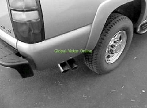 サバーバン 00-06 ギブソン Dual Sport サイド マフラー  5602