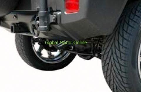 ハマー H2 07-10 ギブソン Single Exhaust マフラー   312501
