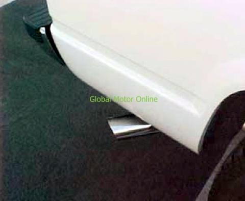 サバーバン 96-99 ギブソン SWEPT SIDE サイド マフラー インレットデュアル  315505